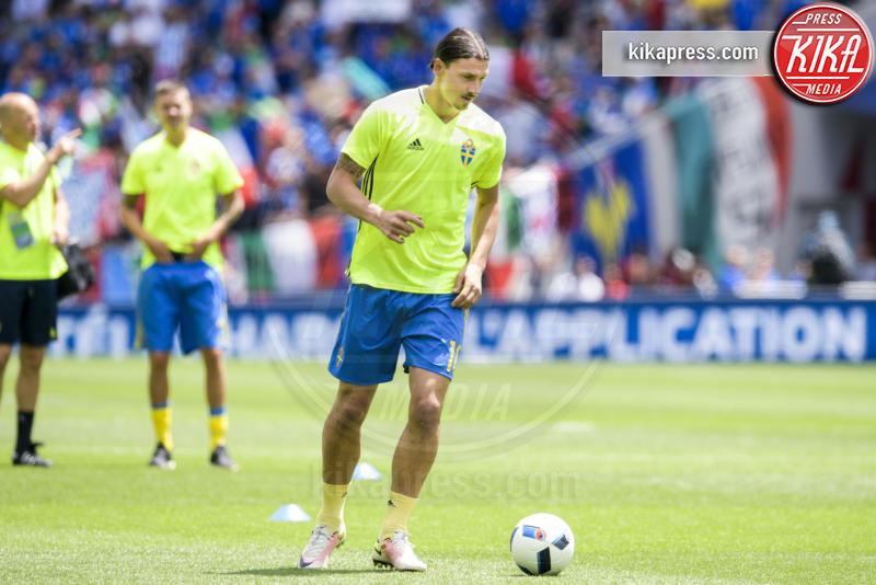 Zlatan Ibrahimovic - Toulouse - 17-06-2016 - Euro 2016: Italia-Svezia, Eder regala la qualificazione