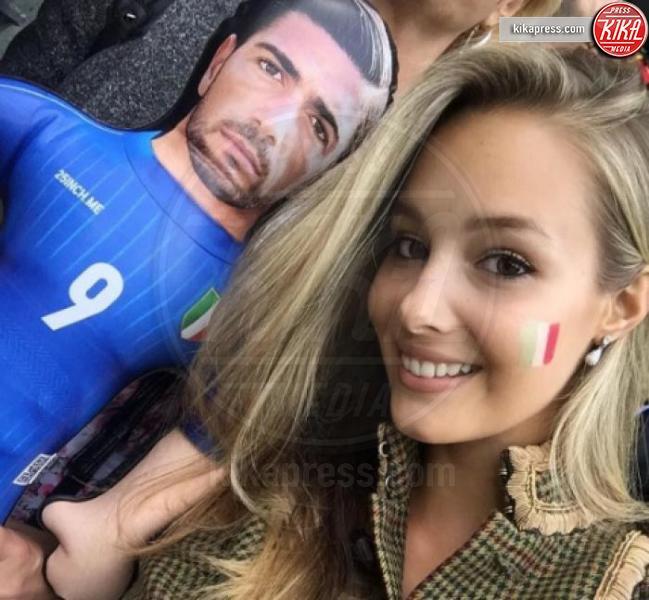 Viktoria Varga, Graziano Pellè - 17-06-2016 - Il calciatore più sexy della Nazionale? Graziano Pellè