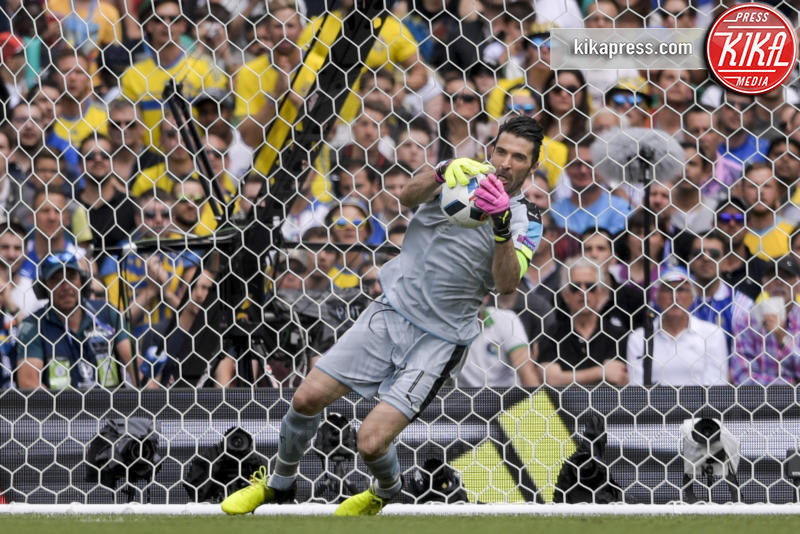 Gianluigi Buffon - Tolosa - 17-06-2016 - Euro 2016: Italia-Svezia, Eder regala la qualificazione