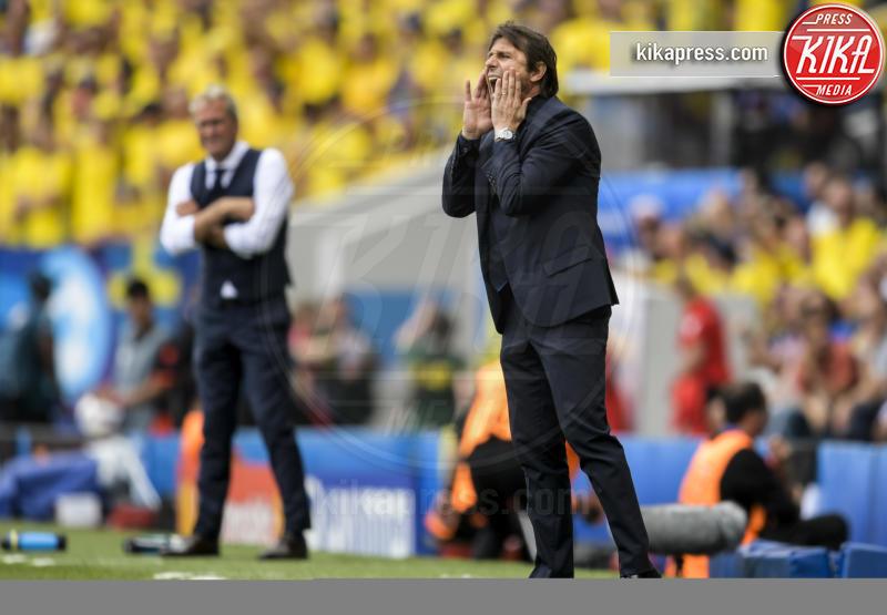 Antonio Conte - Tolosa - 17-06-2016 - Euro 2016: Italia-Svezia, Eder regala la qualificazione
