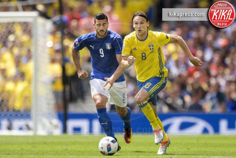 Graziano Pellè - Tolosa - 17-06-2016 - Euro 2016: Italia-Svezia, Eder regala la qualificazione