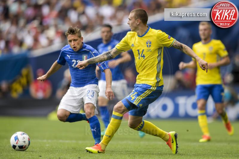 Emanuele Giaccherini - Tolosa - 17-06-2016 - Euro 2016: Italia-Svezia, Eder regala la qualificazione