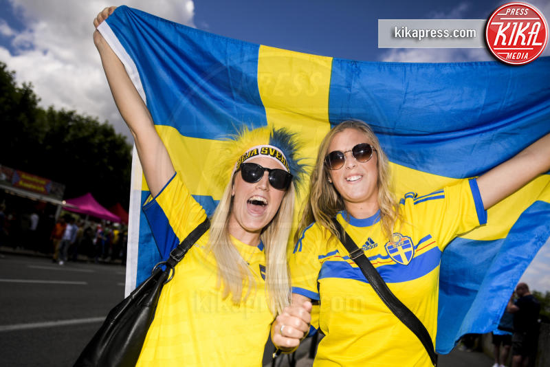 Tifose svedesi - Tolosa - 17-06-2016 - Euro 2016: Italia-Svezia, Eder regala la qualificazione