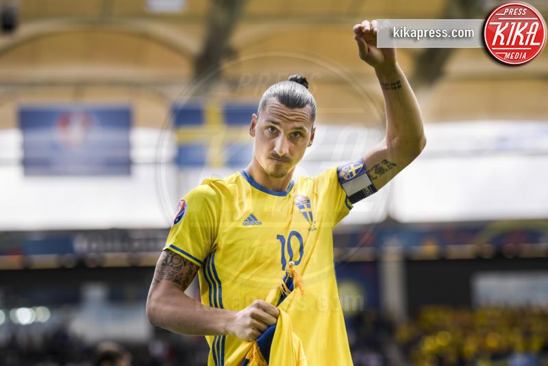 Zlatan Ibrahimovic - Tolosa - 17-06-2016 - Euro 2016: Italia-Svezia, Eder regala la qualificazione