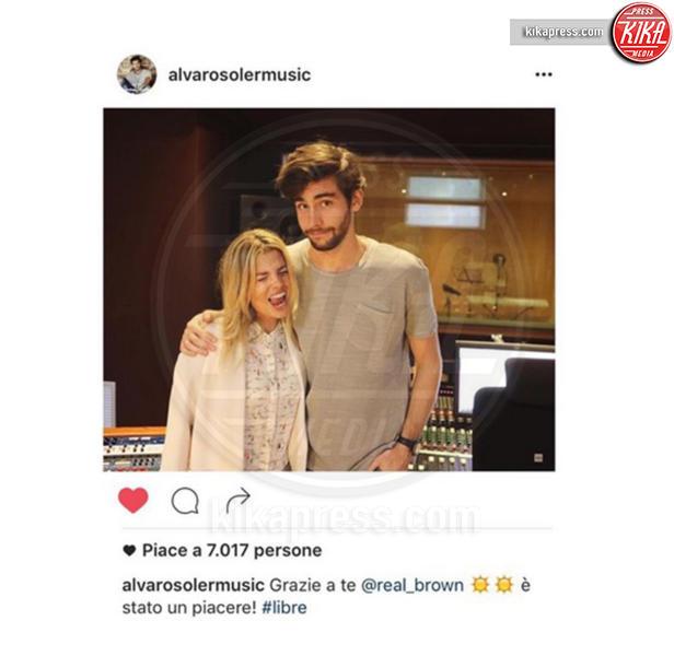 Alvaro Soler, Emma Marrone - 18-06-2016 - Emma, Fabio e Alvaro: il triangolo no?