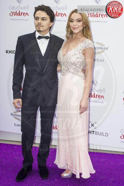Egor Tarabasov, Lindsay Lohan - Londra - 22-06-2016 - Lindsay Lohan incinta, e fidanzata, lo conferma il padre Michael