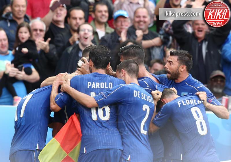 Italia - Parigi - 28-06-2016 - Euro 2016: Italia Spagna 2-0, azzurri ai quarti