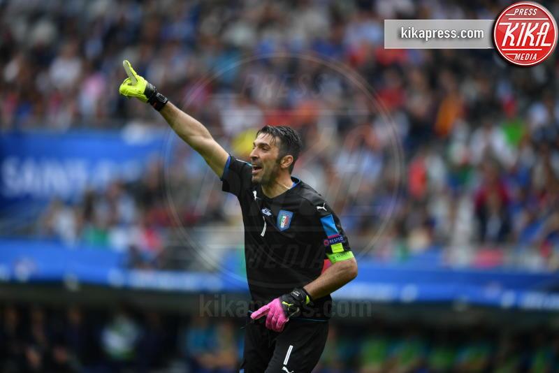 Gianluigi Buffon - Parigi - 27-06-2016 - Euro 2016: Italia Spagna 2-0, azzurri ai quarti