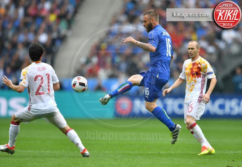 Daniele  De Rossi - Parigi - 28-06-2016 - Euro 2016: Italia Spagna 2-0, azzurri ai quarti