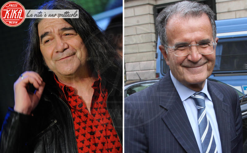 Drupi, Romano Prodi - Milano - 28-06-2016 - Separati alla nascita: ma siete identici!