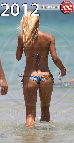 Tomaso Trussardi, Michelle Hunziker - Miami - 03-06-2012 - Estate 2019: lato b ieri e oggi. Qualcosa è cambiato?