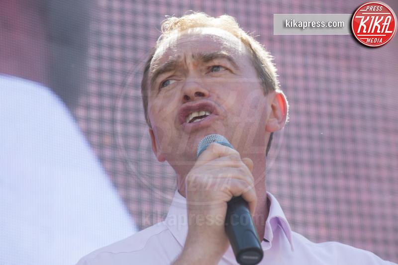 Tim Farron - Londra - 02-07-2016 - Farage come Hitler: e Londra protesta contro la Brexit