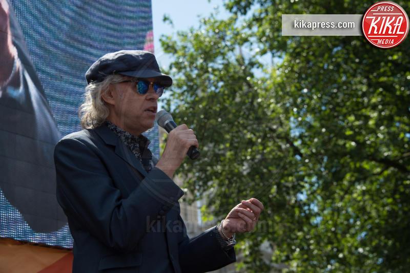 Protesta anti Brexit, Sir Bob Geldof, Bob Geldof - Londra - 02-07-2016 - Farage come Hitler: e Londra protesta contro la Brexit