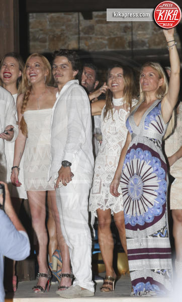 Egor Tarabasov, Lindsay Lohan - Mykonos - 02-07-2016 - Lindsay Lohan: