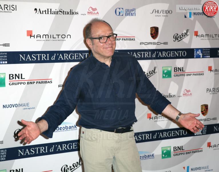 Carlo Verdone - Taormina - 02-07-2016 - Nastri d'Argento 2016: ecco tutti i vincitori