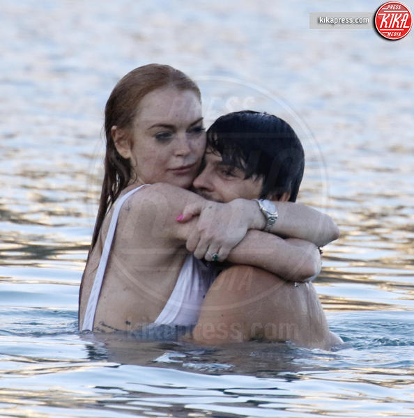 Egor Tarabasov, Lindsay Lohan - Mykonos - 03-07-2016 - Lindsay Lohan: