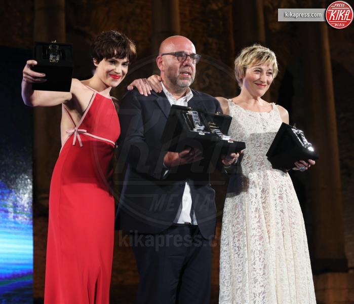 Paolo Virzì, Valeria Bruni Tedeschi, Micaela Ramazzotti - Taormina - 02-07-2016 - Nastri d'Argento 2016: ecco tutti i vincitori
