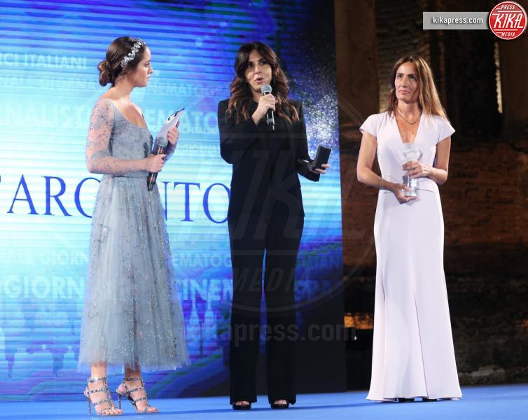 Matilde Gioli, Maria Sole Tognazzi, Sabrina Ferilli - Taormina - 02-07-2016 - Nastri d'Argento 2016: ecco tutti i vincitori