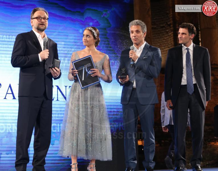 Matilde Gioli, Massimo Popolizio, Beppe Fiorello - Taormina - 02-07-2016 - Nastri d'Argento 2016: ecco tutti i vincitori
