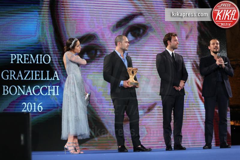 Matilde Gioli, Alessandro Borghi, Claudio Santamaria, Stefano Accorsi - Taormina - 02-07-2016 - Nastri d'Argento 2016: ecco tutti i vincitori