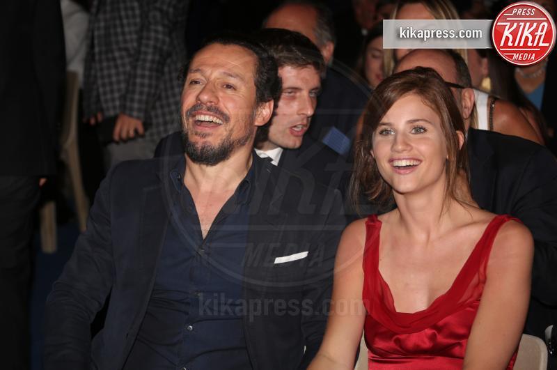 Bianca Vitali, Stefano Accorsi - Taormina - 02-07-2016 - Stefano Accorsi di nuovo papà: è nato Lorenzo!