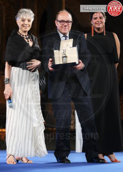 Erminia Manfredi, Carlo Verdone - Taormina - 02-07-2016 - Nastri d'Argento 2016: ecco tutti i vincitori