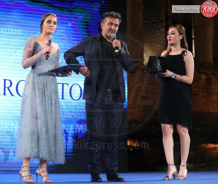 Matilde Gioli, Pietro Valsecchi - Taormina - 02-07-2016 - Nastri d'Argento 2016: ecco tutti i vincitori