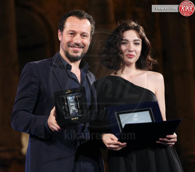Matilde De Angelis, Stefano Accorsi - Taormina - 02-07-2016 - Nastri d'Argento 2016: ecco tutti i vincitori