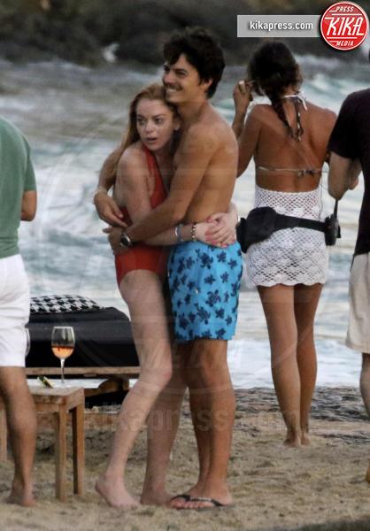 Egor Tarabasov, Lindsay Lohan - Mykonos - 04-07-2016 - Lindsay Lohan:
