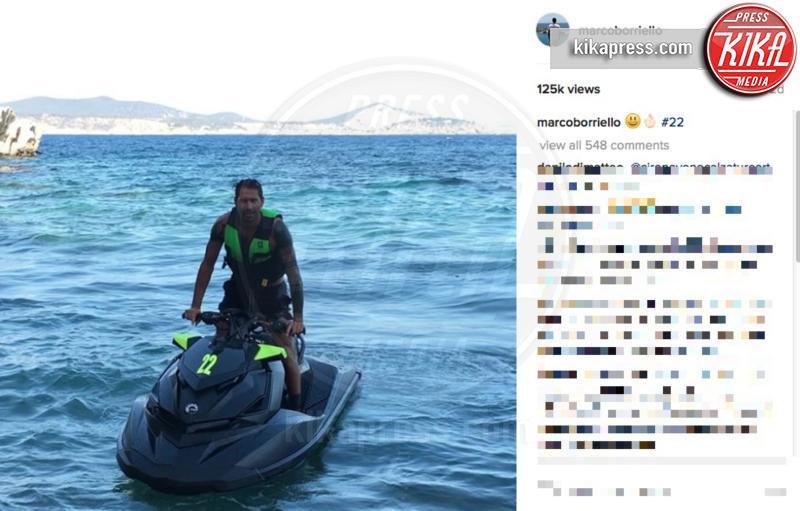 Marco Borriello - Ibiza - 05-07-2016 - Belen-Borriello: la verità nel selfie della showgirl