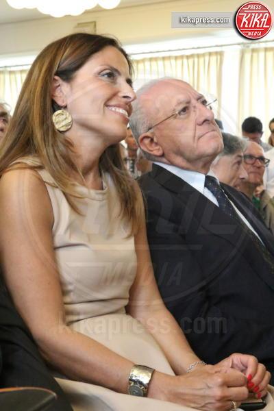 Vincenzo De Luca - Napoli - 09-07-2016 - Maria Elena Boschi a Napoli per il SI al referendum