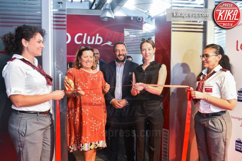 Cristiana Capotondi taglio del nastro - Milano - 07-07-2016 - Anche a Milano l'esclusivo Lounge di Italo