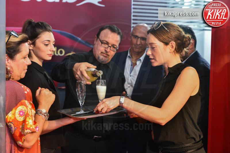 Cristiana Capotondi - Milano - 07-07-2016 - Anche a Milano l'esclusivo Lounge di Italo