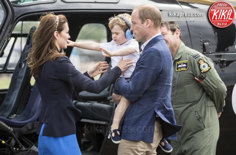 Principe George, Principe William, Kate Middleton - Fairford - 08-07-2016 - Auguri Principe George! L'erede al trono compie sei anni
