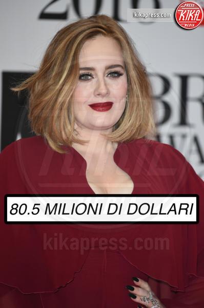 Adele - Londra - 24-02-2016 - Ecco chi è la celebrity più pagata al mondo (non lui)