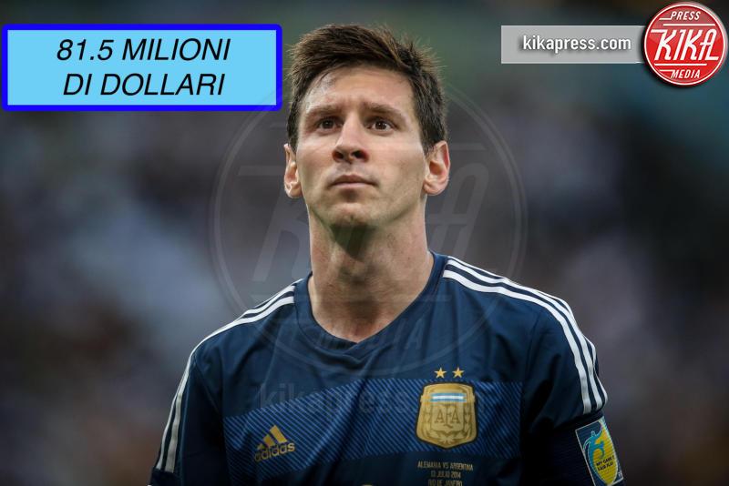 Lionel Messi - Rio de Janeiro - 13-07-2014 - Ecco chi è la celebrity più pagata al mondo (non lui)