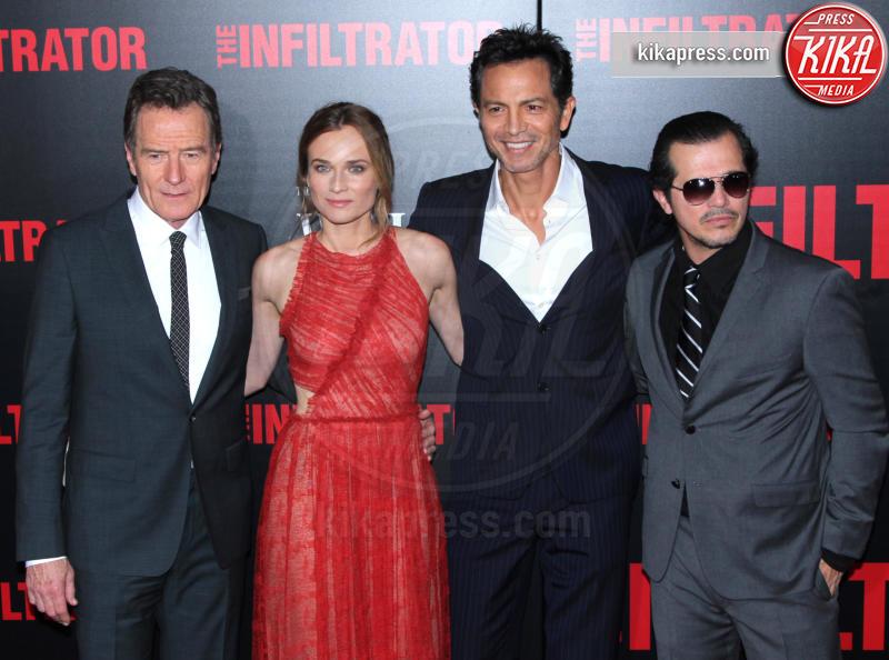 John Leguizamo, Benjamin Bratt, Bryan Cranston, Diane Kruger - New York - 11-07-2016 - Bryan Cranston, agente infiltrato sulle tracce di Escobar