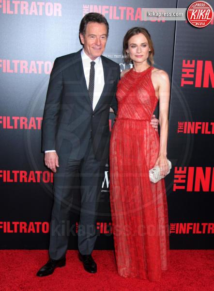 Bryan Cranston, Diane Kruger - New York - 11-07-2016 - Bryan Cranston, agente infiltrato sulle tracce di Escobar