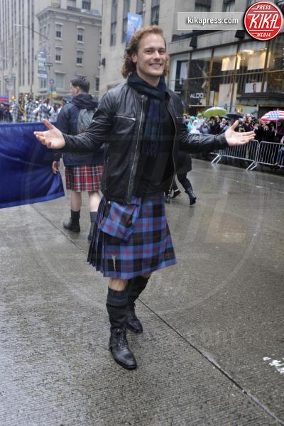Sam Heughan - New York - 09-04-2016 - Uomini con le gonne: ecco i più sexy in kilt!