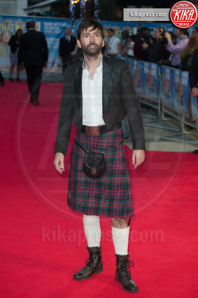 David Tennant - Londra - 22-09-2014 - Uomini con le gonne: ecco i più sexy in kilt!