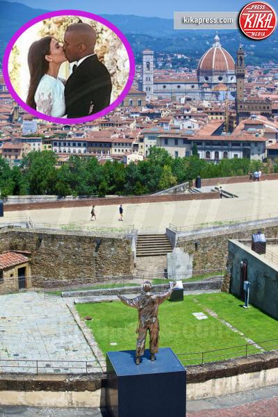 Forte Belvedere, Kim Kardashian, Kanye West - Firenze - 24-06-2016 - Anche Paciock lo sa: sì lo voglio, ma in Italia!