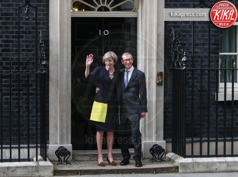 Philip May, Theresa May - Londra - 13-07-2016 - GB, è il May Day, si insedia la nuova prima ministra
