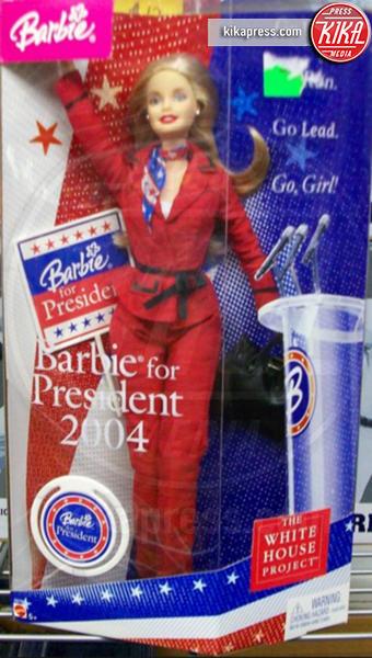 Barbie Presidente 2004, Barbie Presidente - 14-07-2016 - Presidenziali 2016, ecco Barbie presidente e vicepresidente