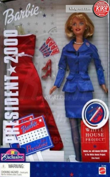 Barbie Presidente 2008, Barbie Presidente - 14-07-2016 - Presidenziali 2016, ecco Barbie presidente e vicepresidente