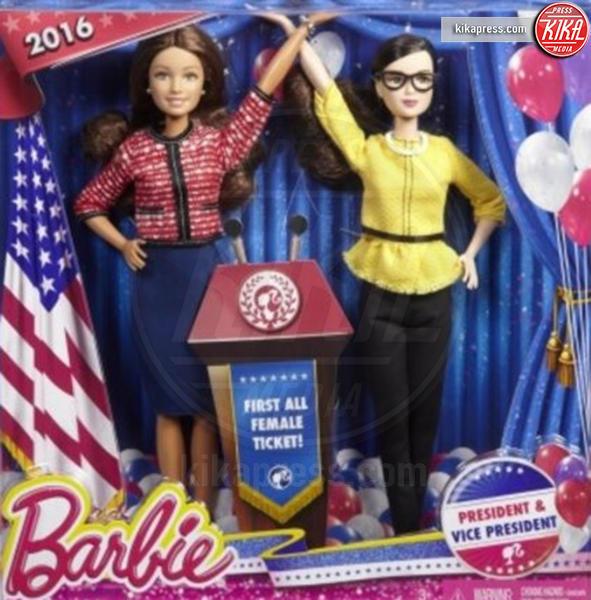 Barbie Presidente 2016, Barbie Presidente - 14-07-2016 - Presidenziali 2016, ecco Barbie presidente e vicepresidente