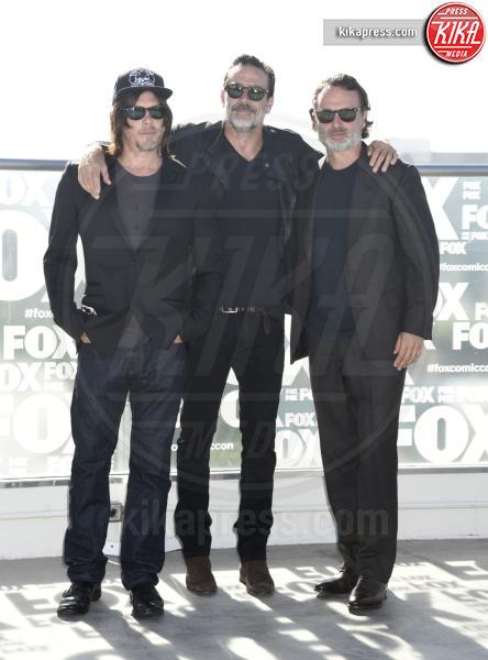 Andrew Lincoln, Jeffrey Dean Morgan, Norman Reedus - San Diego - 22-07-2016 - The Walking Dead: il protagonista lascia la serie tv