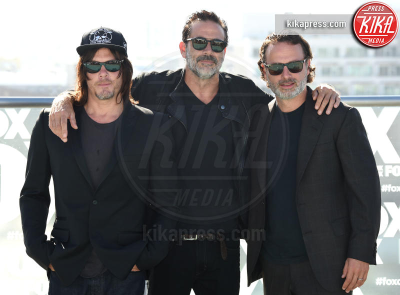 Andrew Lincoln, Jeffrey Dean Morgan, Norman Reedus - San Diego - 22-07-2016 - The Walking Dead 7, questa sera il gran finale: chi morirà?