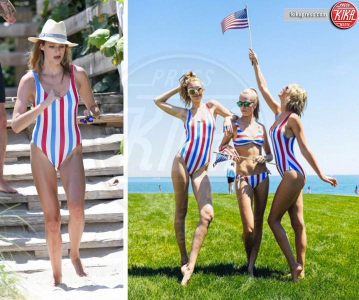 Mollye Rogel, Gigi Hadid, Cara Delevingne, Taylor Swift - 25-07-2016 - Chi lo indossa meglio? Taylor Swift, Gigi Hadid e Mollye Rogel