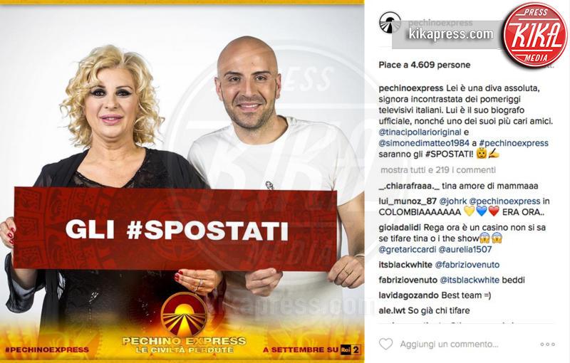 Simone Di Matteo, Gli Spostati, Tina Cipollari - 28-07-2016 - Pechino Express 2016, una foto svela i finalisti?
