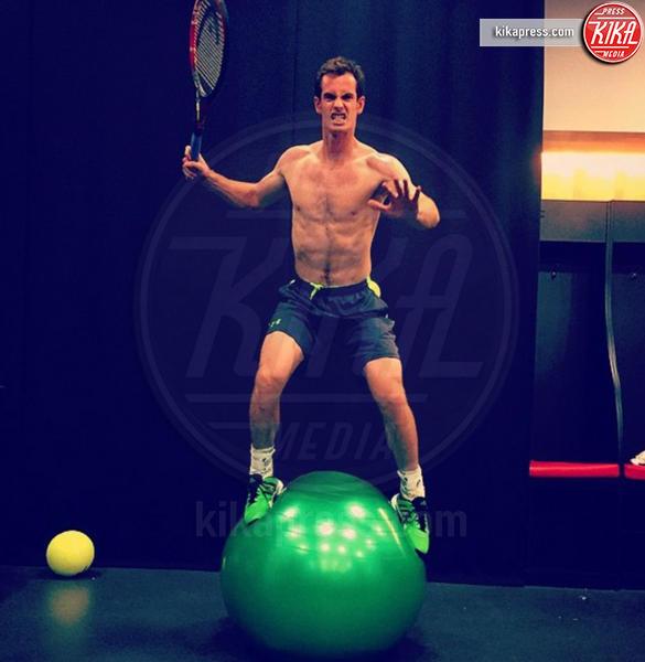Andy Murray - Milano - 01-08-2016 - Tom Hiddleston: è suo il sedere più bello